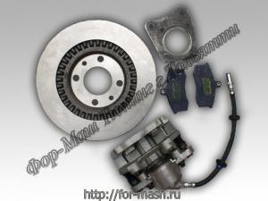 Дисковые тормоза передние на ВАЗ 2101-2107 (классика)