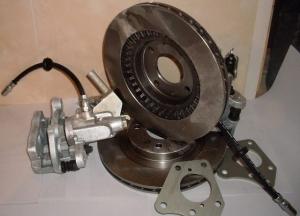 Задние дисковые тормоза Дизайн-Сервис 14 дюйм