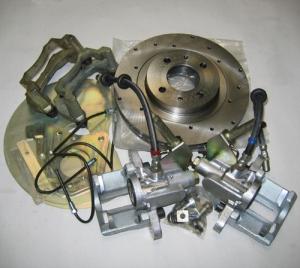 Задние дисковые тормоза Дизайн-Сервис 13 дюйм Ваз 2108-14-10