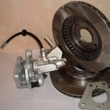 Задние дисковые тормоза 2123 (Шеви Нива) Дизайн-Сервис