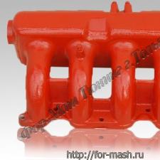 Впускной ресивер ФОР-МАШ 128 ( аллюминиевый ) 16 кл с дудками