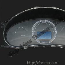 """Комбинация приборов «FLASH-2 Lite» (без """"Автосвета"""") ВАЗ 1118 /Лада-Калина/, 2170 /Лада-Приора/, 2110 (с """"новой"""" панелью приборов)"""