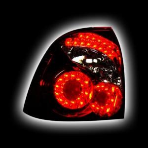 Фонари задние LADA PRIORA, Infinity-Style, светодиодные, тонированный/черныйRS-05187