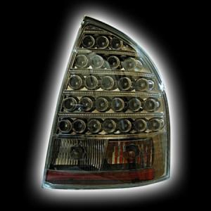 Фонари задние LADA KALINA, светодиодные, черный хромRS-03262